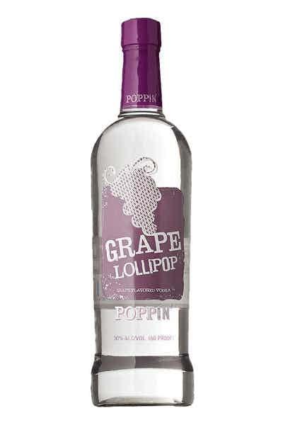 Poppin' Grape Lollipop Vodka