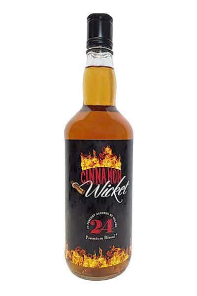 Premium Blend Cinnamon Wicket Flavored Whiskey