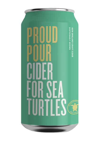 Proud Pour Cider for Sea Turtles