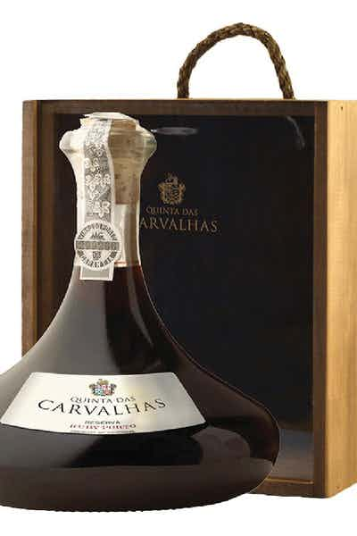 Quinta Das Carvalhas Ruby Port Reserva Decanter Gift