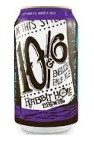 Rabbit Hole 10 and 6 English Style Pale Ale