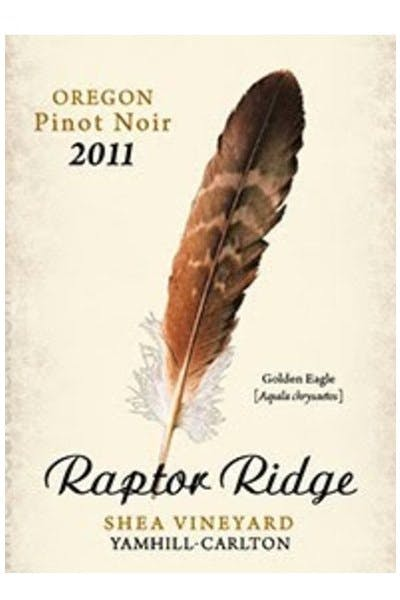 Raptor Ridge 2011 Pinot Noir Shea Vineyard