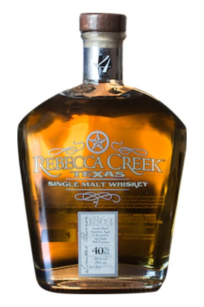 Rebecca Creek Texas Single Malt