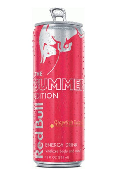 Red Bull Summer Edition Grapefruit Twist