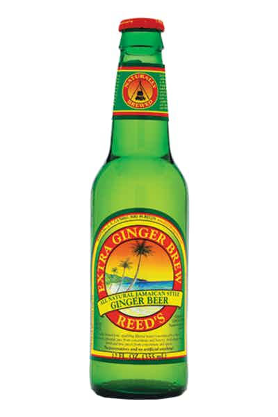 Reed's Extra Ginger Brew Ginger Beer