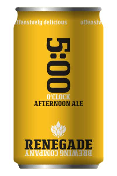 Renegade 5:00 O'clock Afternoon Ale