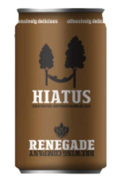 Renegade Haitus Cold Coffee-Infused Oatmeal Ale