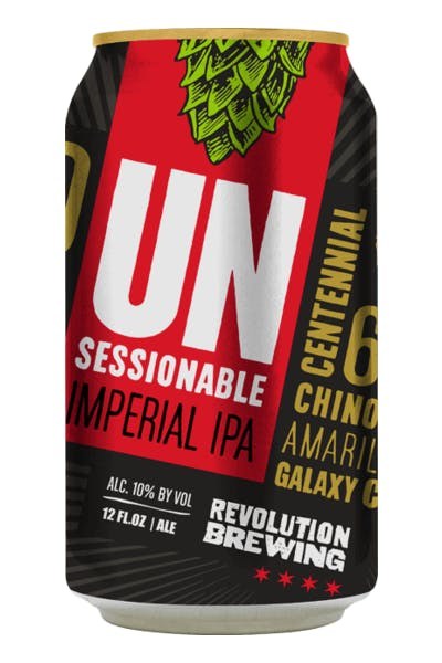Revolution Unsessionable IPA