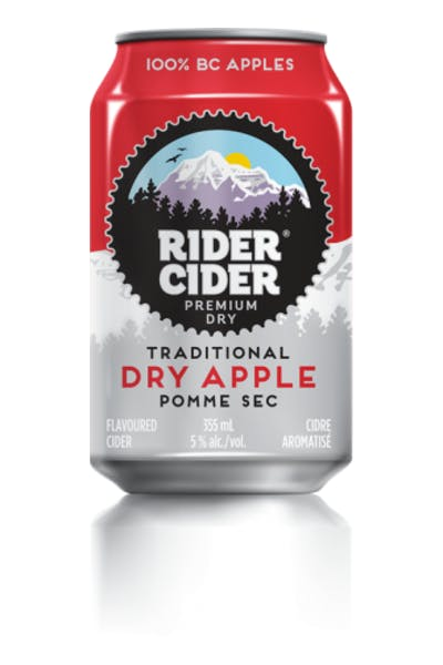 Rider Cider Traditional Dry Apple Cider