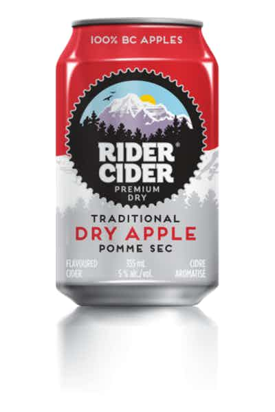 Rider Cider Traditional Dry Apple Cider