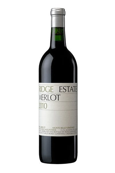 Ridge Estate 10 Merlot