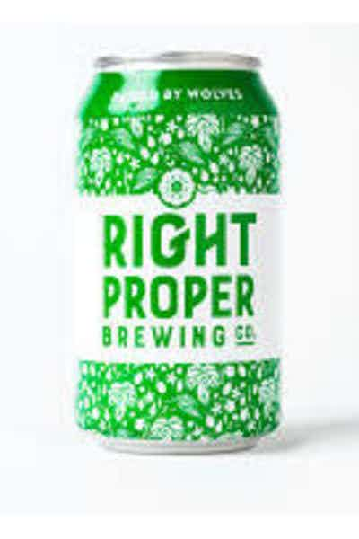 Right Proper Raised By Wolves American Pale Ale