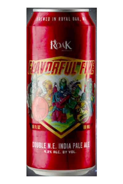 Roak Flavorful Five New England Double IPA