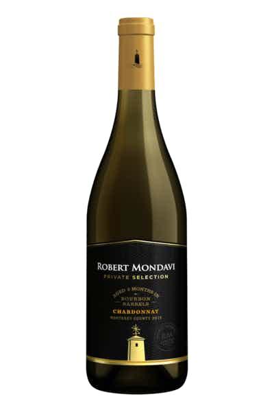 Robert Mondavi Bourbon Barrel Aged Chardonnay Private Selection