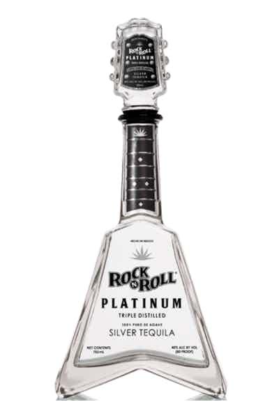 Rock N Roll Platinum Tequila