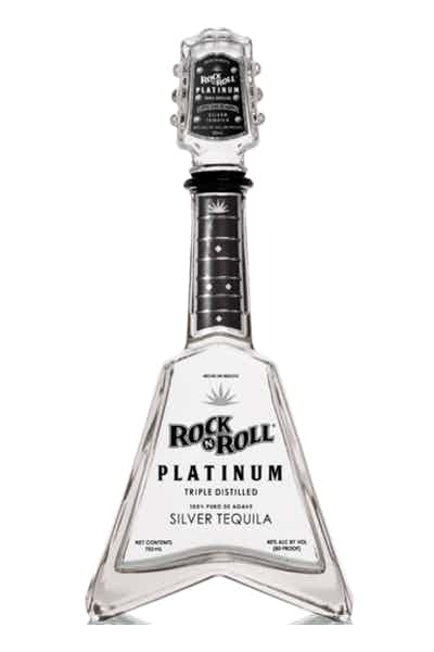Rock N Roll Platinum Tequila