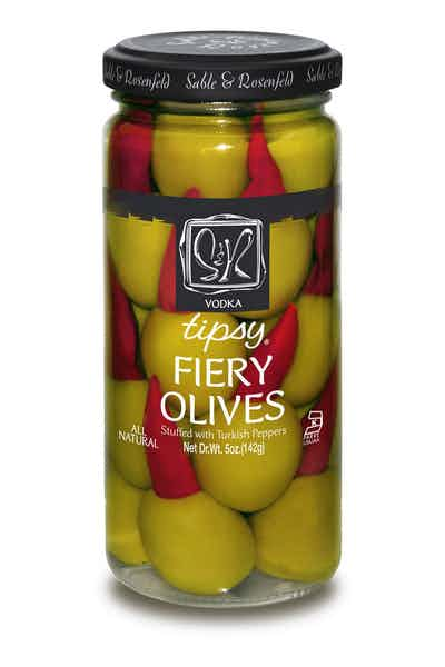 Sable & Rosenfeld Vodka Tipsy Fiery Olives