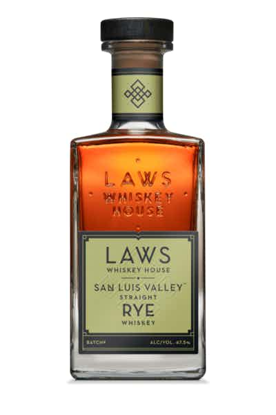 Laws Whiskey House San Luis Valley Straight Rye Whiskey