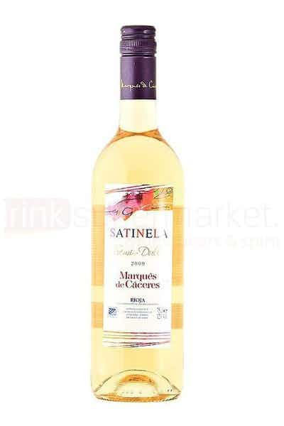 Satinela Marques De Caceres White