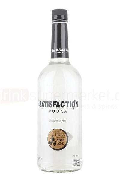 Satisfaction Vodka