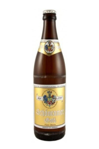 Schonramer Gold Bottle