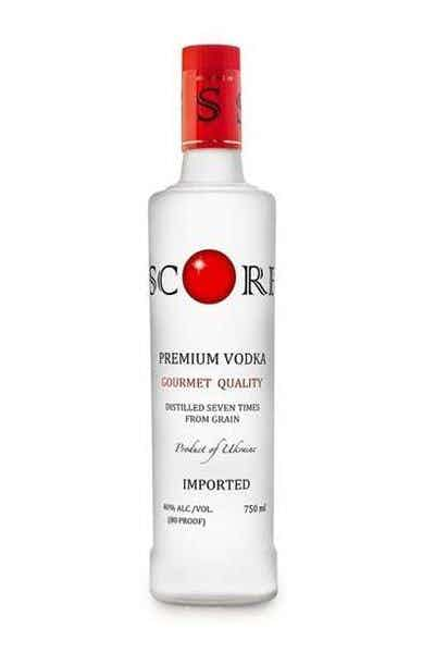 Score Ultra Smooth Vodka