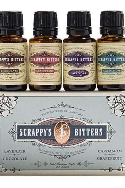 Scrappy's Bitters Exotic Variety Pack