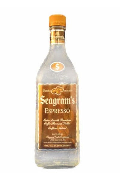 Seagram's Espresso Vodka