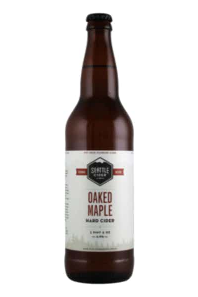 Seattle Cider Oaked Maple Hard Cider