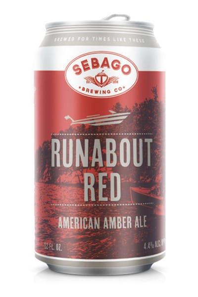Sebago Runabout Red