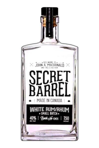 Secret Barrel White Rum