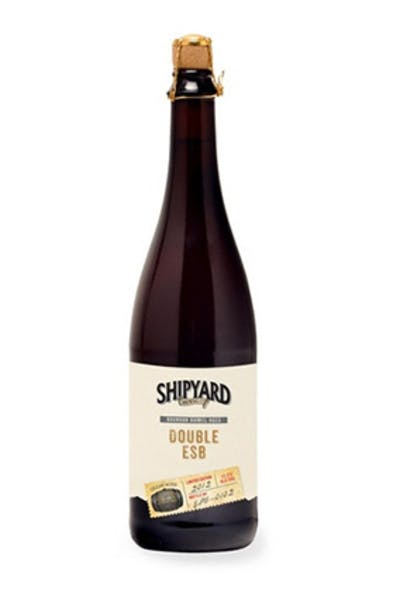 Shipyard Bourbon Barrel Aged Double Esb 750ml