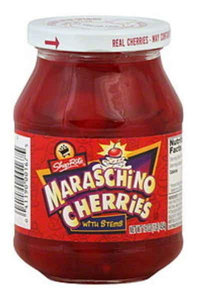 Shop Rite Maraschino Cherries With Stems