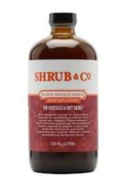 Shrub & Co Blood Orange Infused with Cardamom