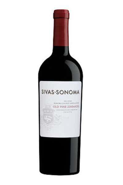 Sivas Sonoma Old Vine Zinfandel Sonoma County Appellation