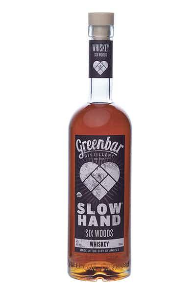 Slow Hand Six Woods Whiskey  from Greenbar Distillery