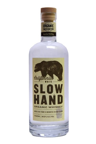 Slow Hand White Whiskey