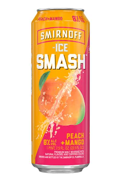Smirnoff Ice Smash Peach + Mango