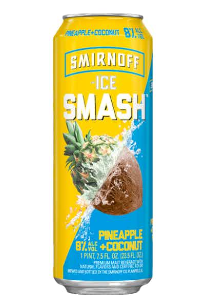 Smirnoff Ice Smash Pineapple Coconut