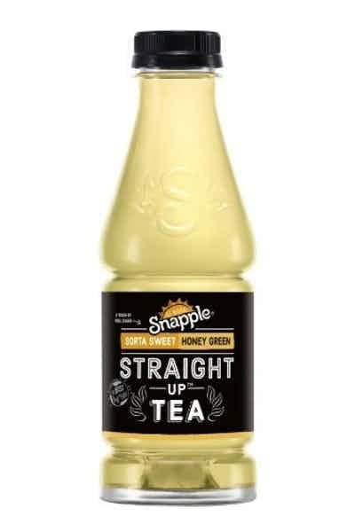 Snapple Straight Up Honey Green Tea
