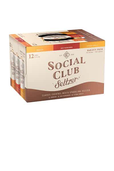 Social Club Seltzer Variety Pack