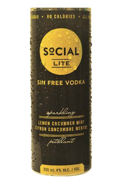 Social Lite Lemon Cucumber Mint