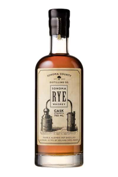 Sonoma County Cask Strength Rye Whiskey