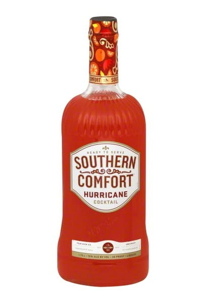 Southern Comfort Hurricane Cocktail