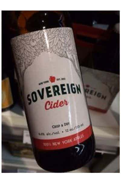 Sovereign Cider Crisp & Dry