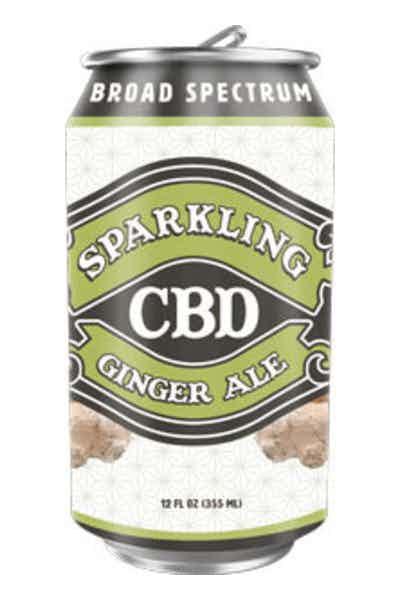 Sparkling CBD Ginger Ale