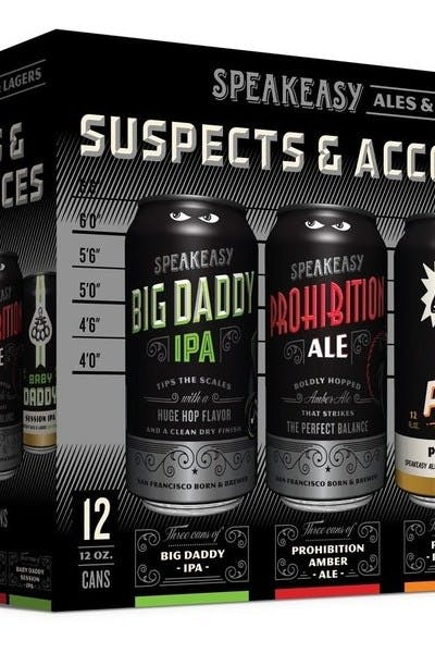 Speakeasy Suspects & Accomplices Variety Pack