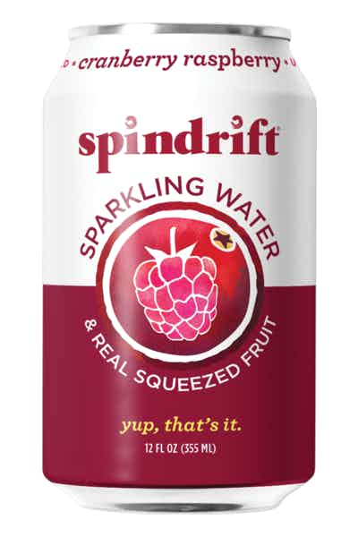 Spindrift Cranberry Sparkling