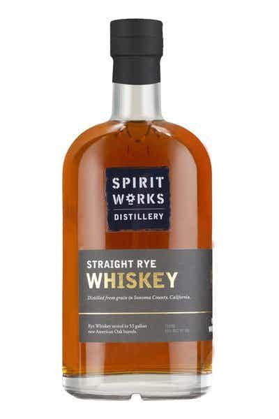 Spirit Works Distillery Straight Rye Whiskey