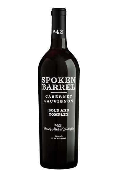 Spoken Barrel Cabernet Sauvignon